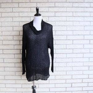 Ball of Cotton Handloomed Sweater Open Weave Med